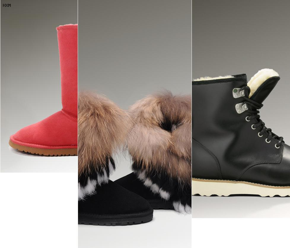 boots imitation ugg homme