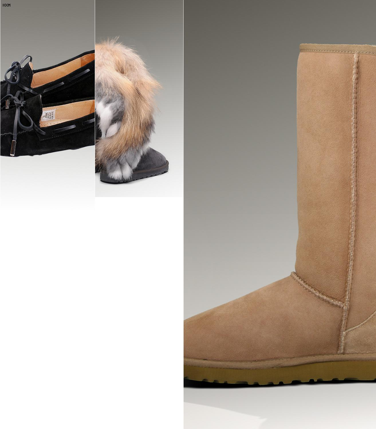 chausson ugg solde