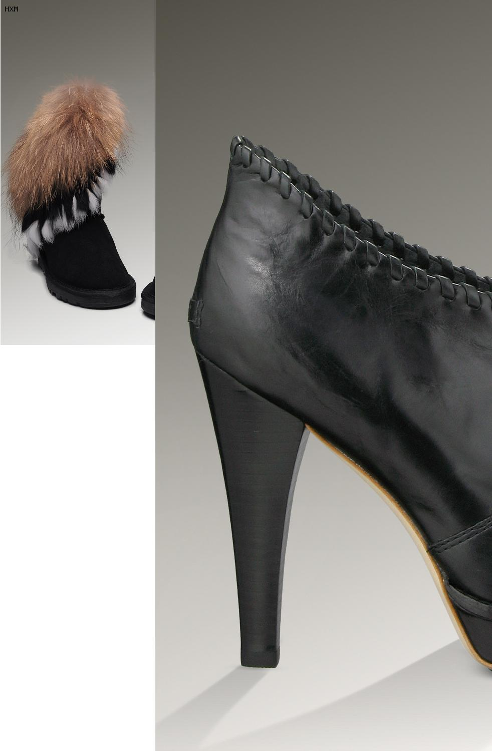 chaussure femme hiver ugg fourrure